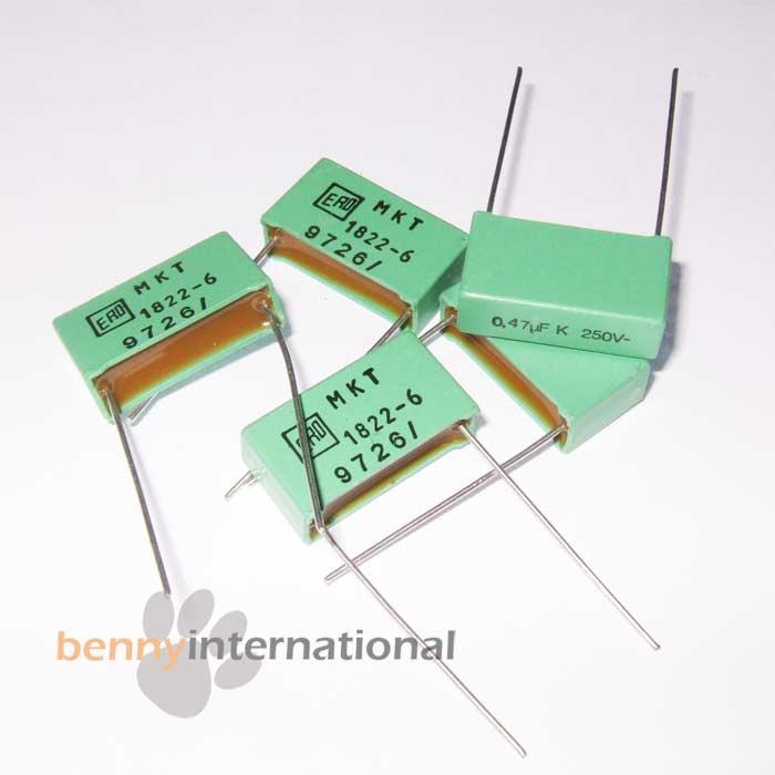 AUS STOCK 20x 0.47uF 63V 85°C CAPACITORS Electrolytic Radial