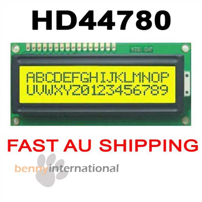 HD44780-1602-LCD-DISPLAY-MODULE-GREEN-on-YELLOW-Backlight-16X2-PIC-Arduino-AVR