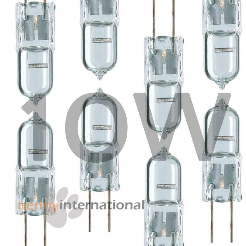 12v 5w 10w 20w g4 halogen globes 2 5 6 10 packs bulb. Black Bedroom Furniture Sets. Home Design Ideas