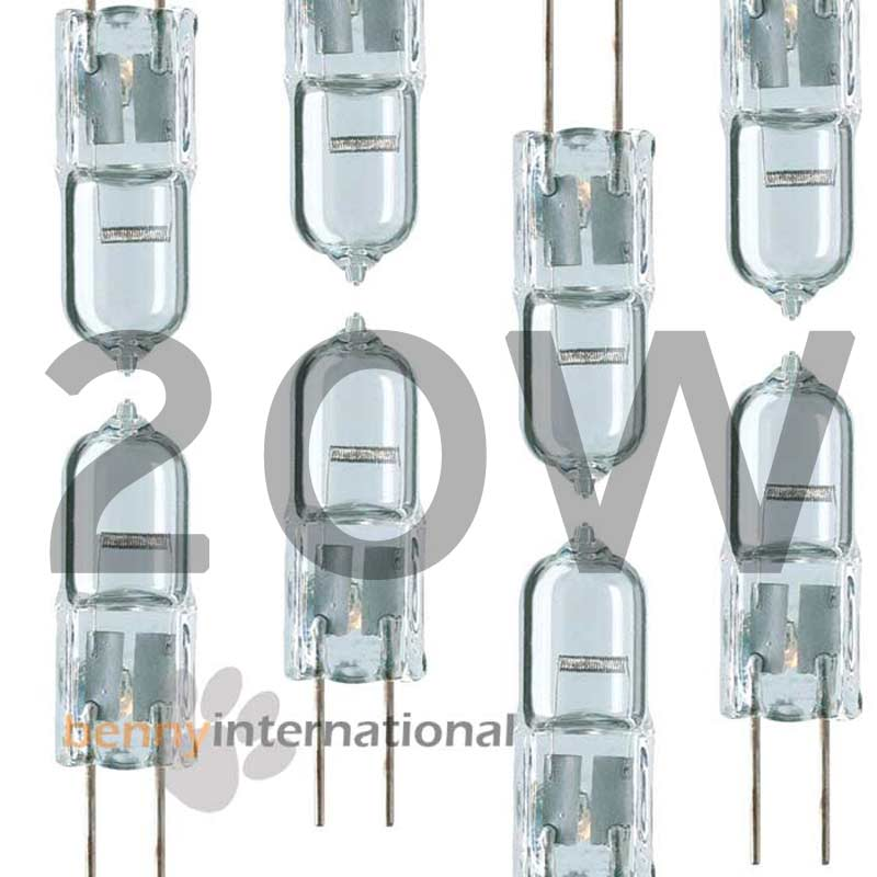 12v 5w 10w 20w g4 halogen globes 2 5 6 10 packs bulb. Black Bedroom Furniture Sets. Home Design Ideas