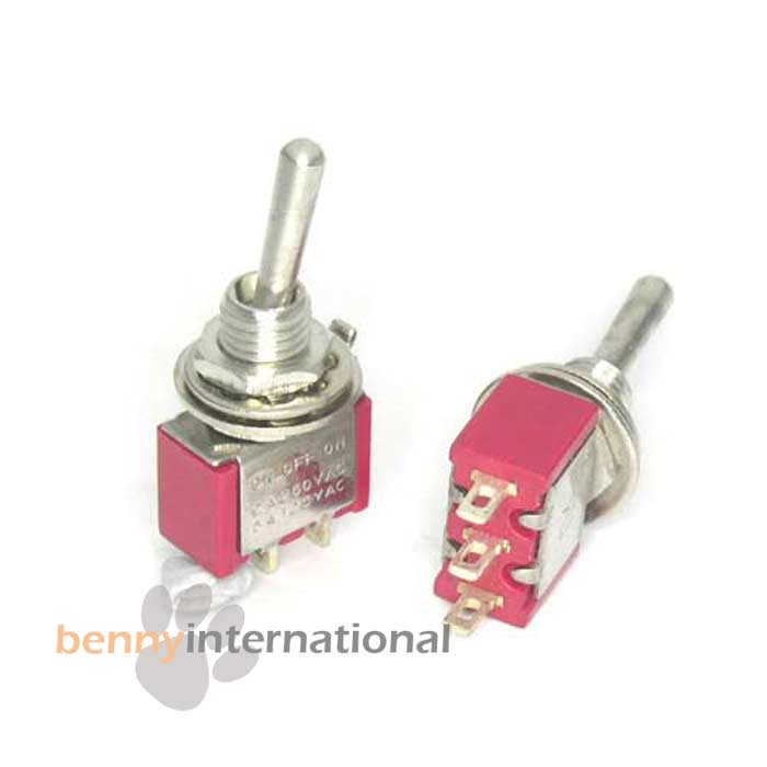 SPDT-ON-OFF-ON-Miniature-TOGGLE-SWITCH-Solder-Tag-Projects-Car-Auto-12V-24V