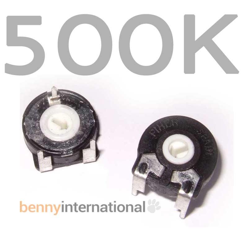 4x 1K 2K 10K 20K 50K 100K 500K 500R 15mm PIHER TRIMPOT Top
