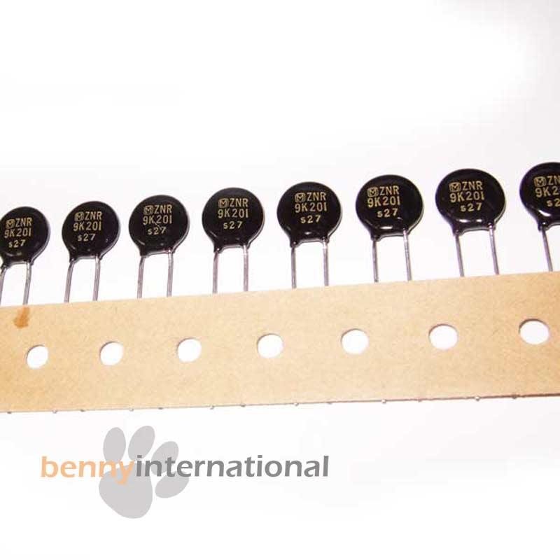20pcs 07D220K Metal Oxide Varistor Volt Dependent Resistor 22V 14VAC 18V